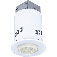 "Canarm RD3DCWH-LED - Recessed, RD3DCWH-LED, 3"" IC and Non-IC REMODEL, Gimbal Trim, 1 x Bymea 7.5W 500Lumen 3000K GU10"