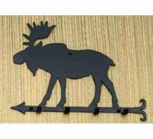 "Meyda Tiffany 22388 - 12""W Moose Key Holder"